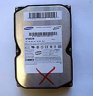 """918 HDD Samsung 80 GB IDE 3.5"""" 7200 rpm 2MB SP0802N - нерабочий, цокотит"""