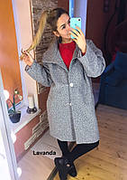 Пальто женское демисезонное (букле барашек) мод. 0172. Разные цвета
