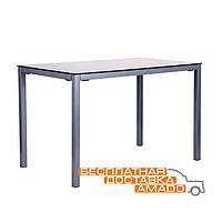 Стол обеденный Родос DT-101 черный/стекло антрацит