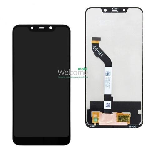 Модуль Xiaomi Pocophone F1 black SERVICE дисплей экран, сенсор тач скрин Покофон
