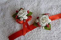 Купить свадебные бутоньерки, любой цвет