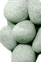 Камень для бани жадеит шлифованный средний в мешке Хакасия