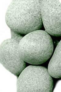 Камень для бани жадеит средний в мешке 10 кг Хакасия (шлифованный), фото 2