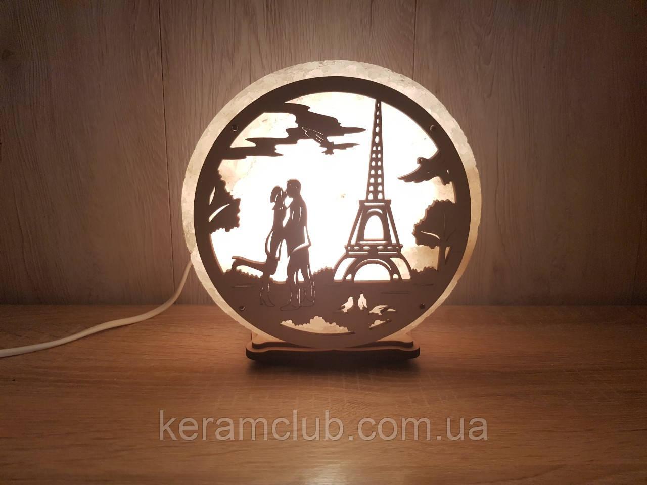 """Соляной светильник """"Париж"""""""
