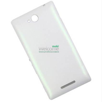 Задняя крышка Sony C2305 S39h Xperia C white, сменная панель сони иксперия с2305, фото 2