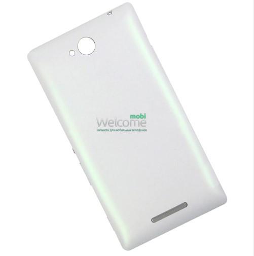 Задняя крышка Sony C2305 S39h Xperia C white, сменная панель сони иксперия с2305