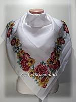 Кашемировые платки Алмира, белый