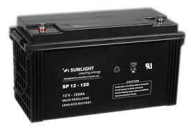 Аккумуляторная батарея SunLight SPb 12-120, фото 2