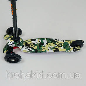 Самокат Best Scooter  1285  Mini (Черный) Графический рисунок, фото 2