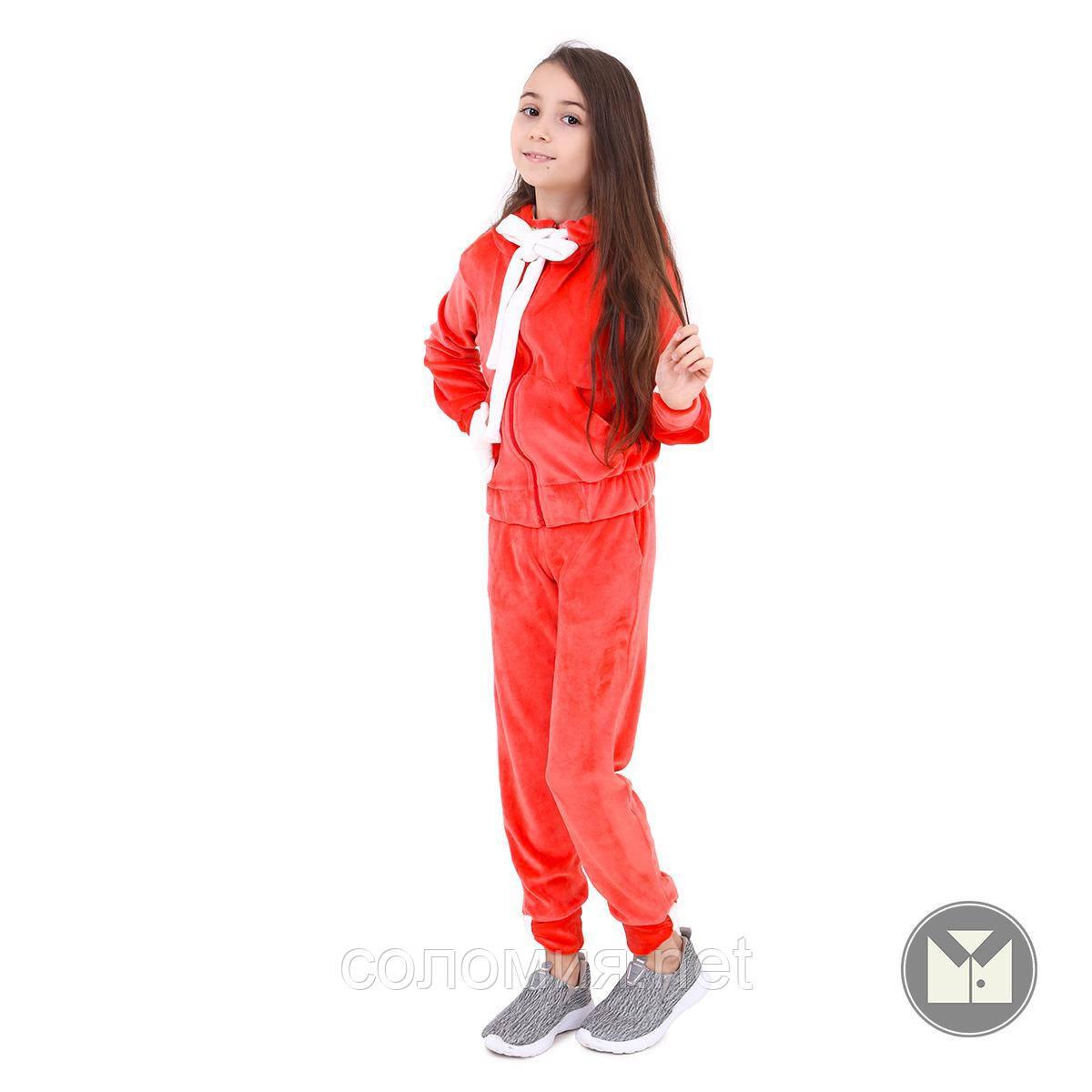 Красивый Велюровый Спортивный костюм  для девочки 110-140р