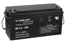 Аккумуляторная батарея SunLight SPb 12-150