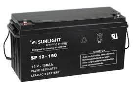 Аккумуляторная батарея SunLight SPb 12-150, фото 2
