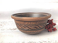 Пиала из красной глины 450мл, фото 1