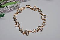 Женский браслет из медицинского золота.