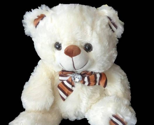 Детская мягкая игрушка Мишка 30 см хороший подарок на любой праздник плюшевый медведь, фото 2