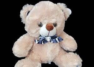 Детская мягкая игрушка Мишка 30 см хороший подарок на любой праздник плюшевый медведь, фото 3