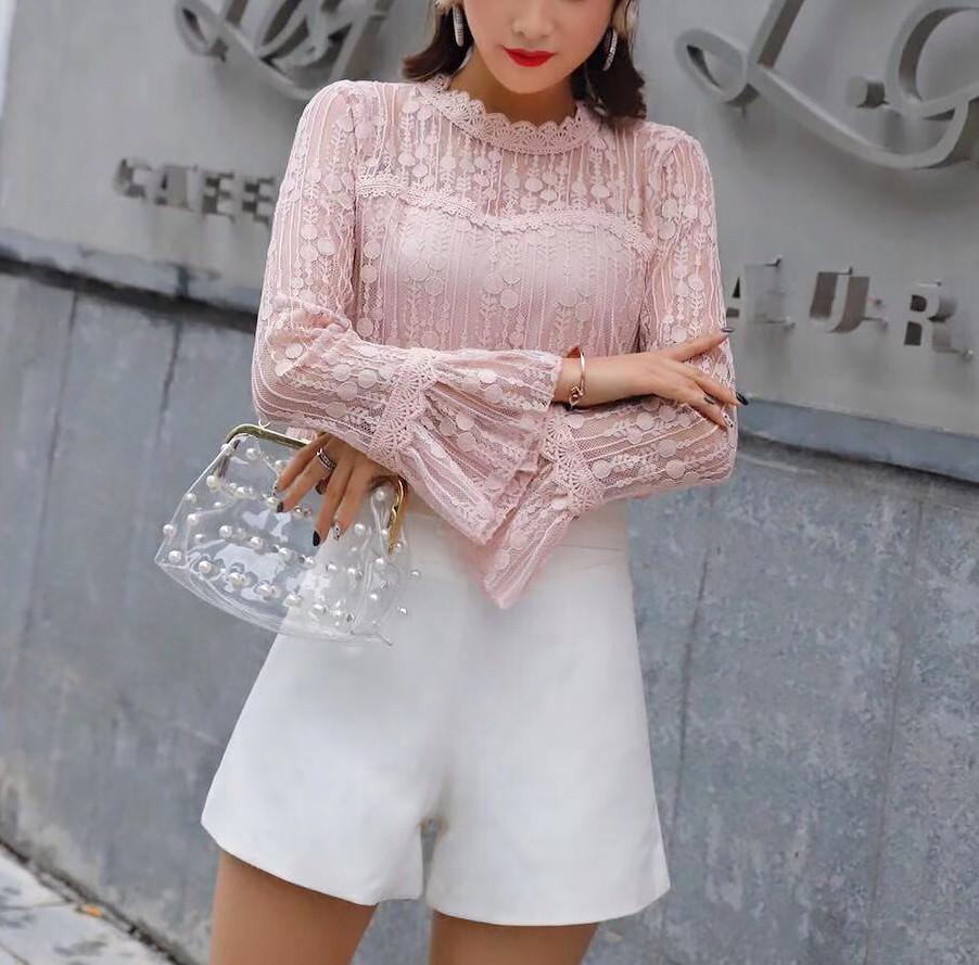 Шикарная блузка на вечер (в расцветках)