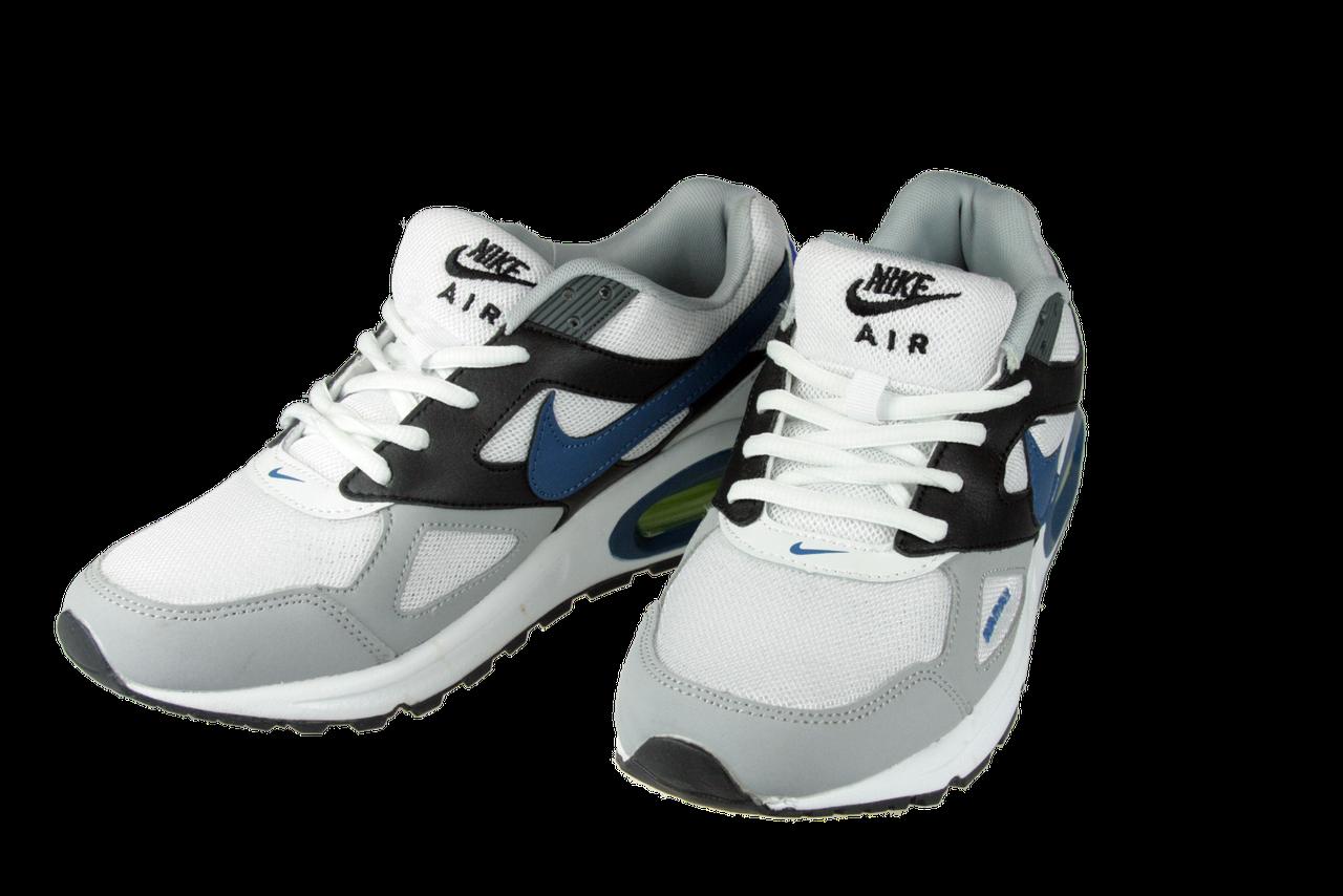 d170384bfb20 Мужские кроссовки nike (найк) air max спорт 7 792-4 белые летние ...