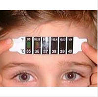 Термометр лобный  термополоска
