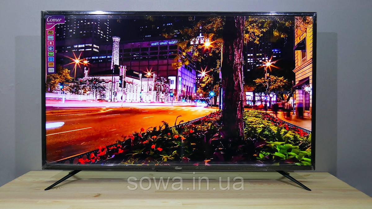 "✔️ Телевизор Comer, Диагональ 50""  + Smart ТВ + T2 / E50DM1200"