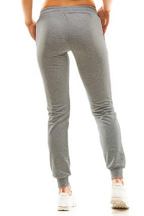 Женские спортивные штаны 5406 темно-серый, фото 2