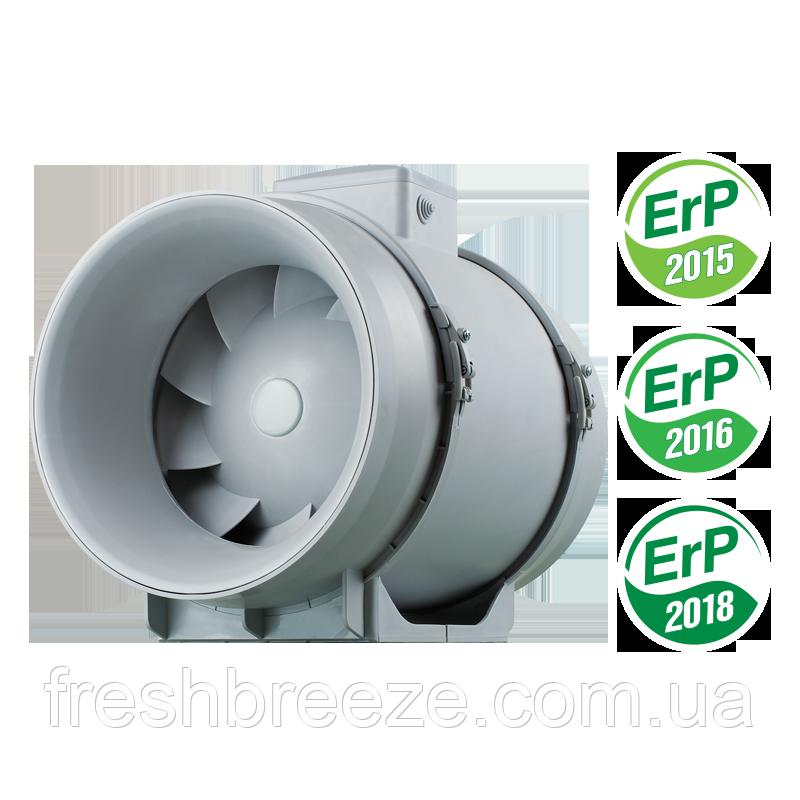 Канальный вентилятор смешанного типа c EC мотором Вентс ТТ ПРО 125 ЕС