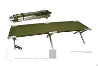 "Раскладушка "" НАТО "" армейская нагрузка 200 кг, фото 1"