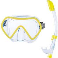 Набор маска для плавания + трубка Seac Sub Zenith, желтый