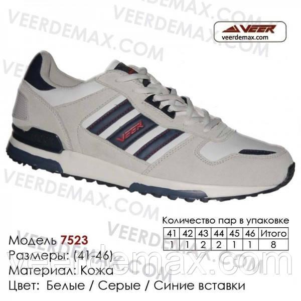 Мужские кожаные кроссовки Veer Demax