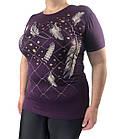 Женская футболка большого размера, пр-во Турция, фото 8