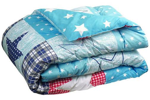 Одеяло двуспальное 172x205 силикон 200 г/м2 Руно (316.52СЛКУ), фото 2