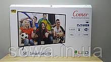 """✔️ Телевизор Comer / Диагональ 50"""" / Smart ТВ + T2 / E50DM1200 / Гарантия качества, фото 2"""