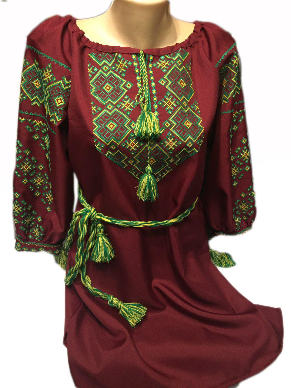 """Женская вышитая рубашка """"Поллин"""" BI-0028"""