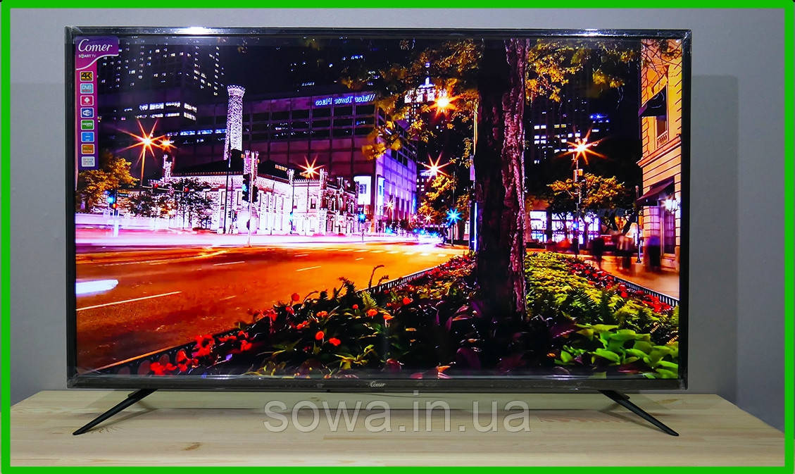 "✔️ Телевизор Comer / Диагональ 50"" / Smart ТВ + T2 / E50DM1200 / Гарантия качества"