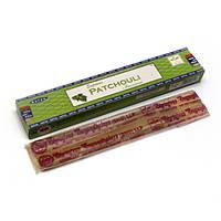 Supreme Patchouli (Пачули)(15 gm) (12 шт/уп)(Satya) пыльцовое благовоние , Благовония и аксессуары