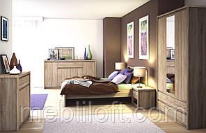 Спальный гарнитур 2 NORTON / Нортон Модульная система