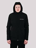 Куртка мужская ветровка Urban Planet WM7 SOFTSHELL черная XS S M L XL XXL XXXL