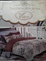 """Комплект постільної білизни  бязь ТМ """"Koloco"""" Двохспальний"""