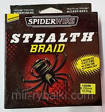 Плетенка Spider 100 m 0.22 mm