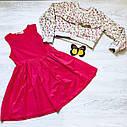 Платье и  батник двойка (5-8 года), фото 3