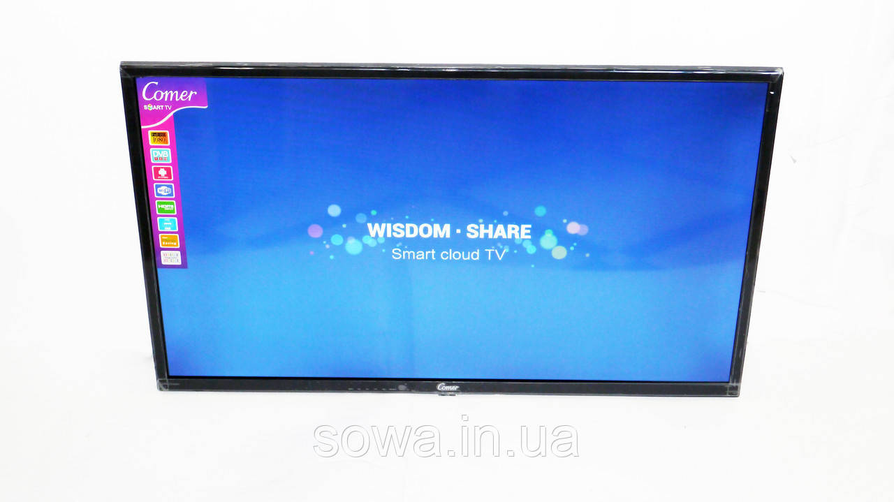 "✔️ Телевизор Comer - диагональ 43"" дюйма + Smart TV + Т2. Гарантия 12 мес!"