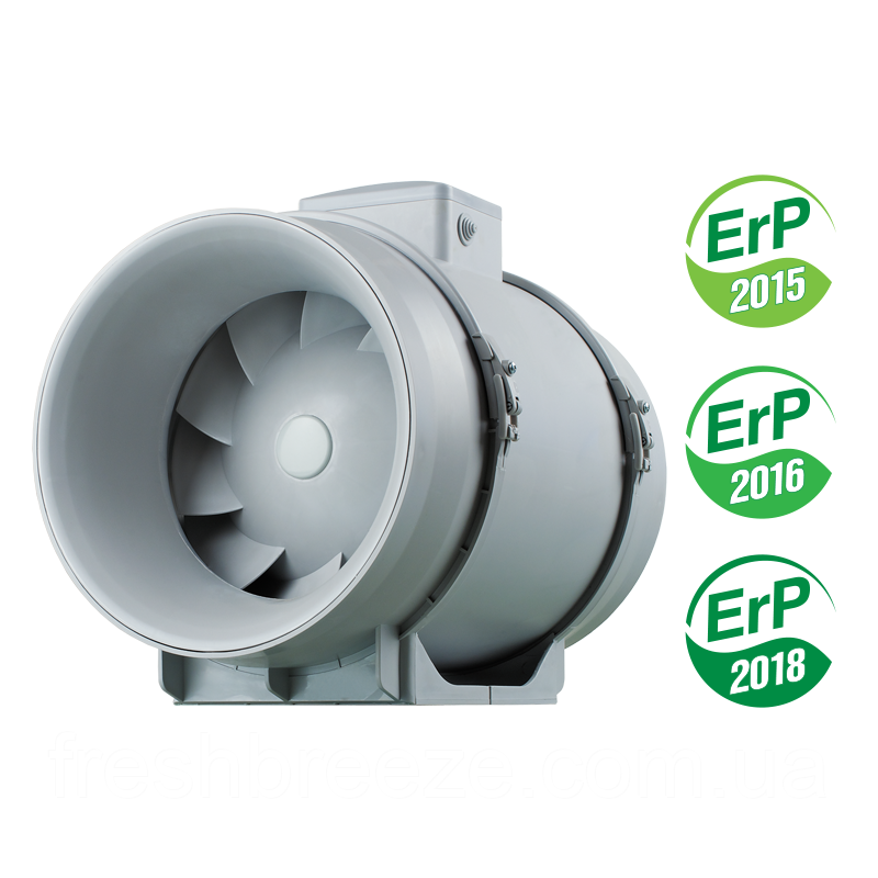 Канальный вентилятор смешанного типа c EC мотором Вентс ТТ ПРО 250 ЕС