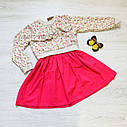 Платье и  батник двойка (5-8 года), фото 4