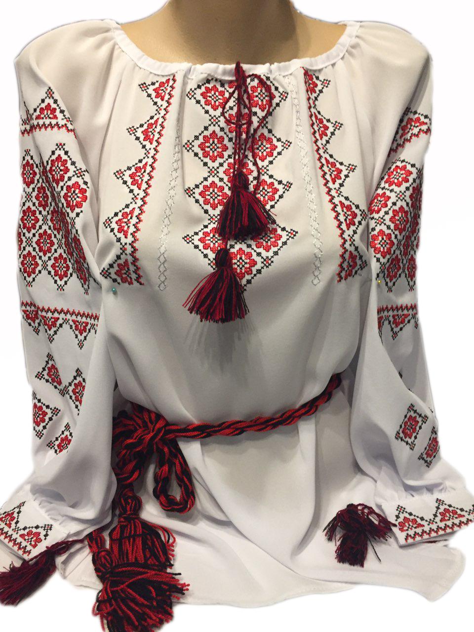 """Женская вышитая рубашка """"Рейчол"""" BI-0030"""