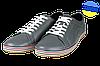 Мужские туфли спортивные prime 406серый серые   весенние