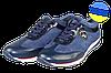 Женские туфли замшевые punto bela 441син синие   весенние
