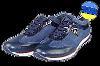 Женские туфли замшевые punto bela 441син синие   весенние , фото 1