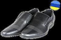 Мужские туфли модельные intershoes 14o575 черные   весенние , фото 1
