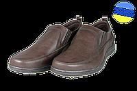 Мужские городской комфорт intershoes 14o618 коричневые   весенние , фото 1