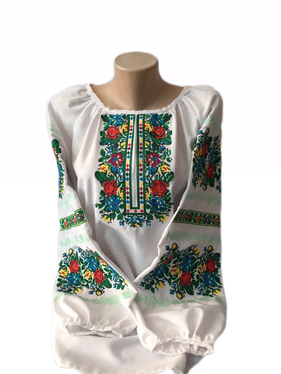 """Жіноча вишита сорочка (блузка) """"Аврелія"""" (Женская вышитая рубашка (блузка) """"Аврелия"""") BI-0031"""